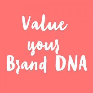 Respect the firm's values, design principles, DNA to build a strong brand identity